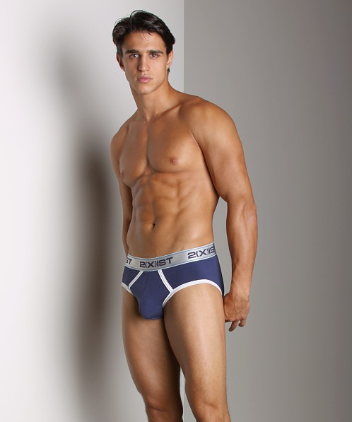 2xist Colour Contour Pouch Brief Sailor Navy