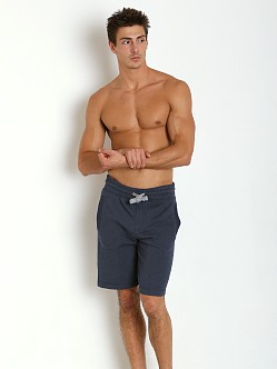 2xist Active Core Terry Short Denim Heather