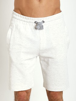 2xist Active Core Terry Short White Heather