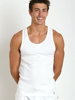 2xist Comfort Lounge Tank Top White