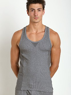 2xist Comfort Lounge Tank Top Black Heather