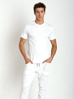 2xist Comfort Lounge Crew Neck Shirt White