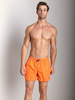 Hugo Boss Lobster Swim Shorts Bright Orange