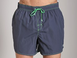 Hugo Boss Lobster Swim Shorts Charcoal
