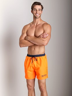 Hugo Boss Starfish Swim Shorts Bright Orange