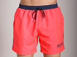 Hugo Boss Starfish Swim Shorts Bright Pink