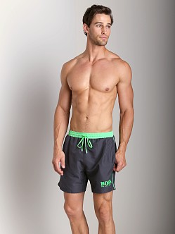 Hugo Boss Starfish Swim Shorts Charcoal