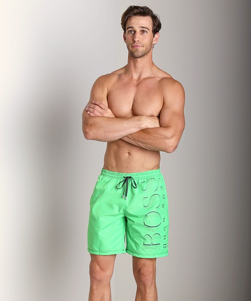 Hugo Boss Killifish Swimsuit Bright Green