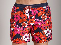 Hugo Boss Piranha Swim Shorts Bright Orange