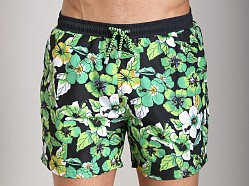 Hugo Boss Piranha Swim Shorts Bright Green