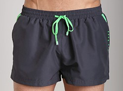 Hugo Boss Mooneye Swim Shorts Charcoal