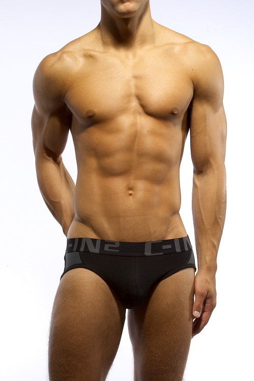 C-IN2 Kinetic Mesh Active Brief Black