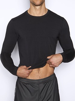 C-IN2 Grip Lite Long Sleeve Crew Neck Shirt Black