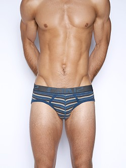 C-IN2 Pop Stripes Lo No Show Brief Arctic Night