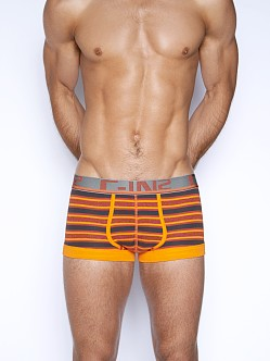 C-IN2 Pop Stripes Army Trunk Orange Peel