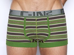 C-IN2 Pop Stripes Army Trunk Rifle Green