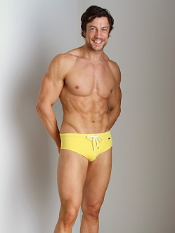 2xist Rio No-Show Swim Brief Aspen Gold