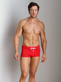2xist Cabo Swim Trunk Salsa Red