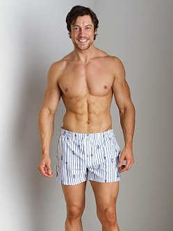 2xist Nautical Knot Ibiza Swim Shorts White