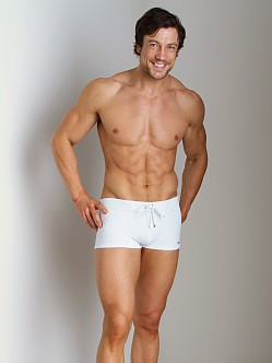 2xist Gold Cabo Swim Trunk White