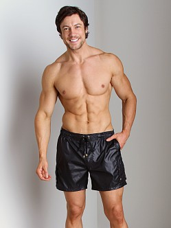 2xist Gold Camper Swim Shorts Black