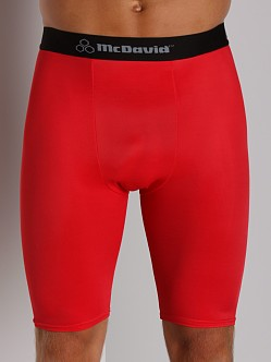 McDavid Deluxe Compression Shorts Scarlet