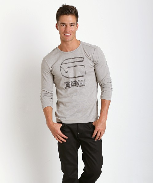 G-Star Rackpal Long Sleeve Shirt Grey