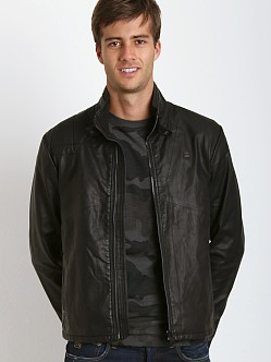 G-Star Forc Across Biker Jacket Black