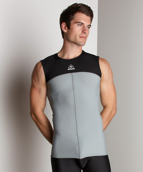McDavid Hexpad Sleeveless Body Shirt Grey