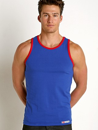 Complete the look: Go Softwear California Classic Tank Top Royal/Red