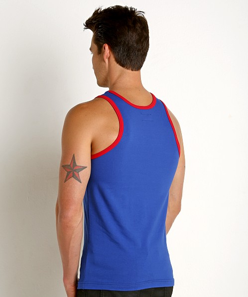 Go Softwear California Classic Tank Top Royal/Red