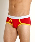 Go Softwear California Classic Boy Brief Red/Gold, view 3
