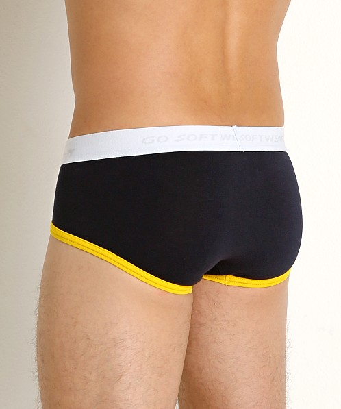 Go Softwear California Classic Boy Brief Navy/Gold