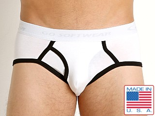 Go Softwear California Classic Boy Brief White/Black