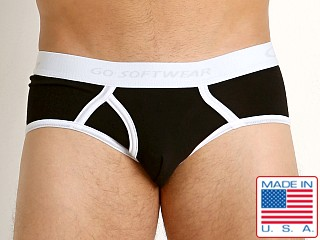Go Softwear California Classic Boy Brief Black/White