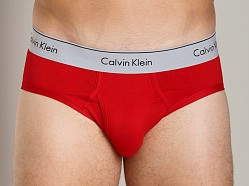 Calvin Klein Modern Classic Low Rise Brief Brilliant Red