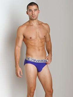 Calvin Klein Steel Micro Hip Brief Blue Royale
