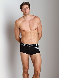 Emporio Armani Eagle Trunk Black