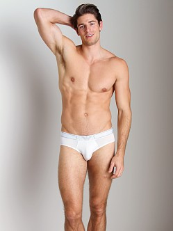 Emporio Armani Soft Cotton Hip Brief White