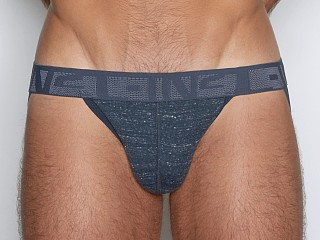 Model in max navy heather C-IN2 Hand Me Down Jock