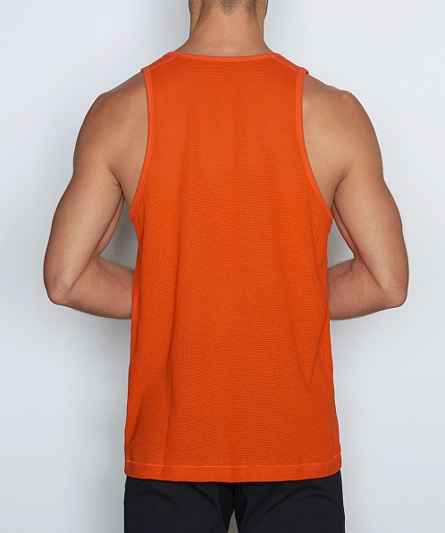 C-IN2 Scrimmage Relaxed Tank Top Randy Orange