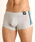 Emporio Armani Logo Tape Trunk Melange Gray, view 3