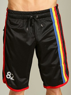 Andrew Christian Basketball Shorts Black