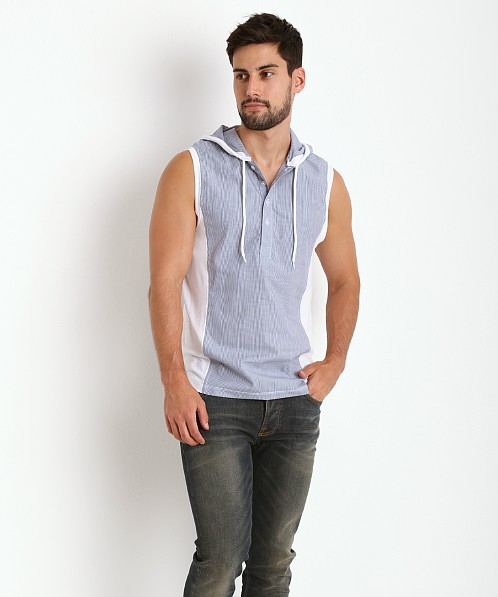 Pistol Pete Martinique Sleeveless Hoody Denim