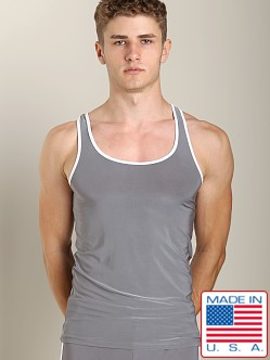 Pistol Pete Slinky Speed Tank Grey/White