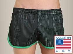 Pistol Pete Scrimmage Athletic Mesh Short Black/Green