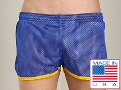 Pistol Pete Scrimmage Athletic Mesh Short Royal/Gold