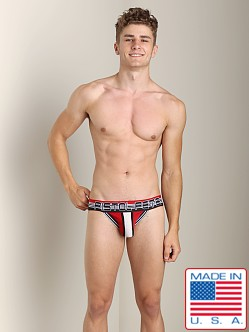 Pistol Pete Velocity Brief Red