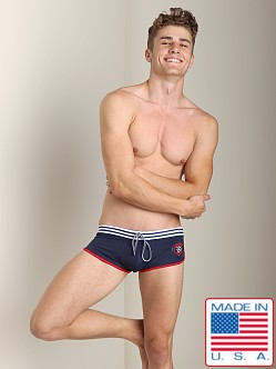 Pistol Pete Nautilus Swim Trunk Navy