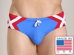 Pistol Pete Avenger Brief Royal/Red
